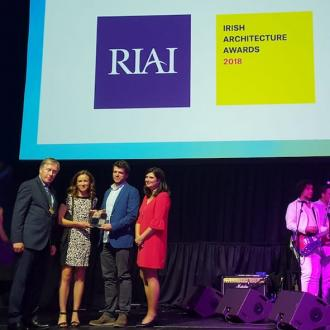NOJI wins the RIAI Future Award 2018