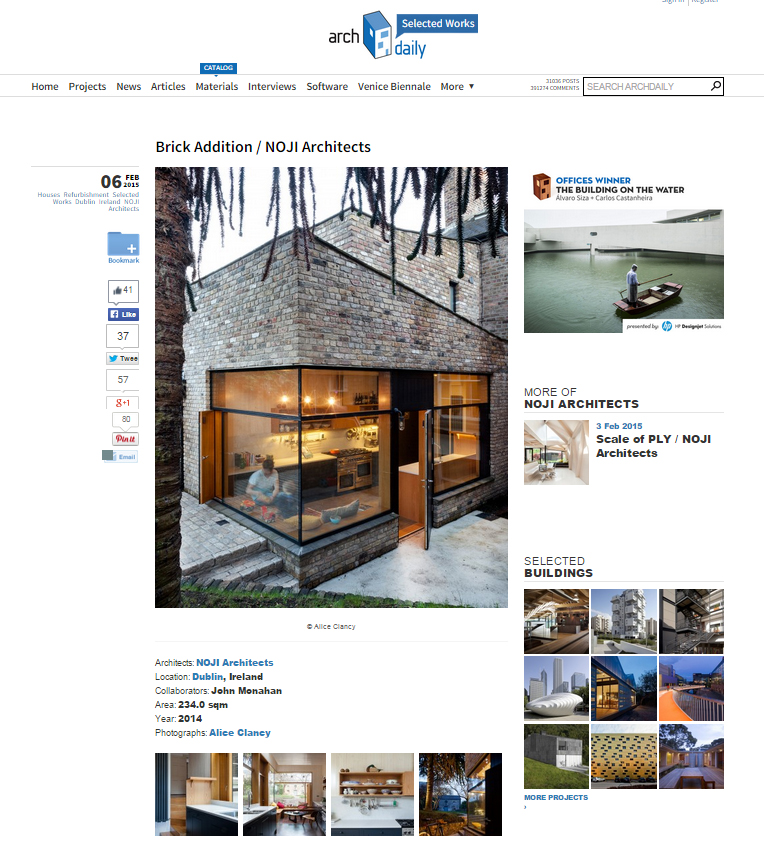 Archdaily - Brick Addition
