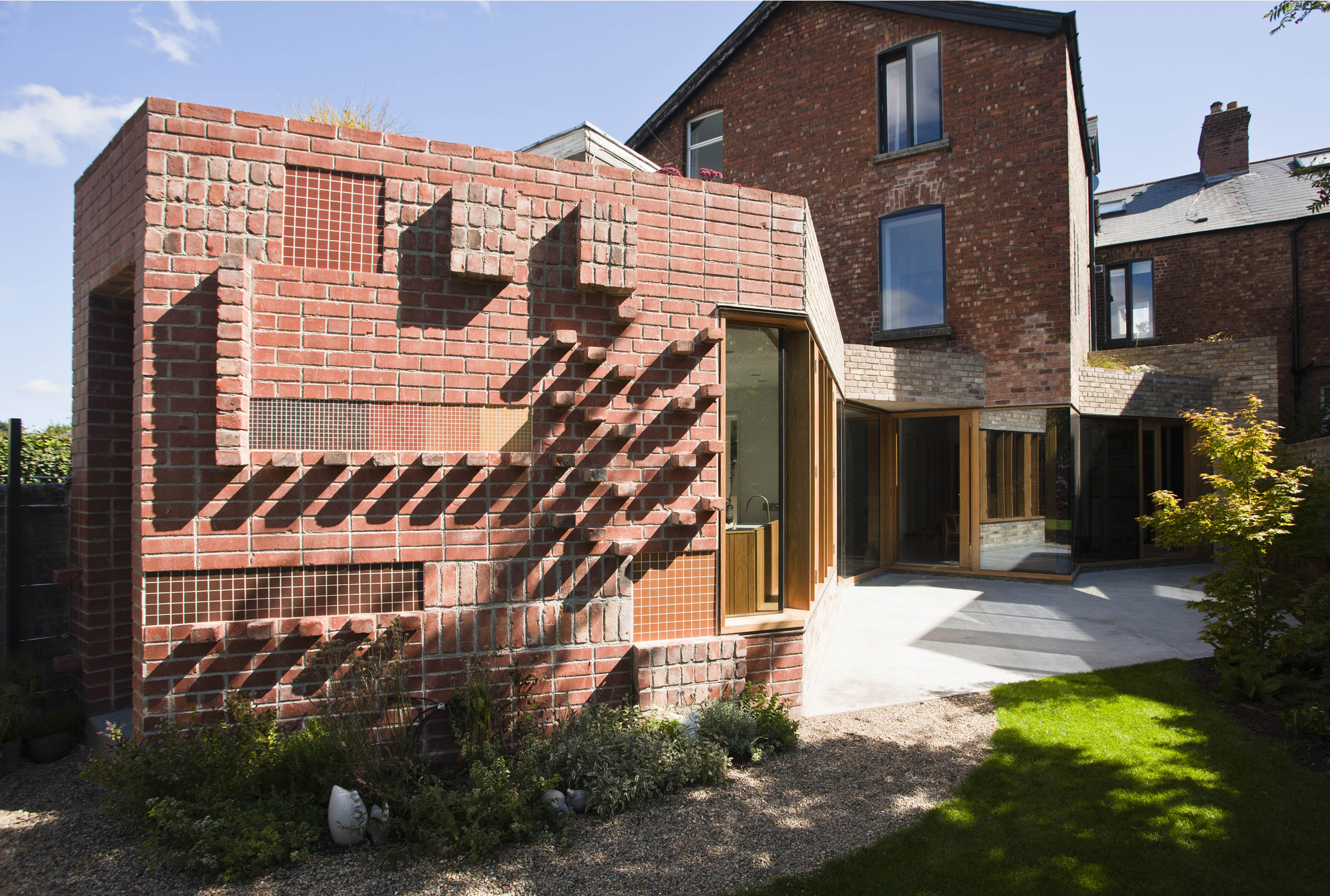 renovation brick architecture extension dublin noji sligo